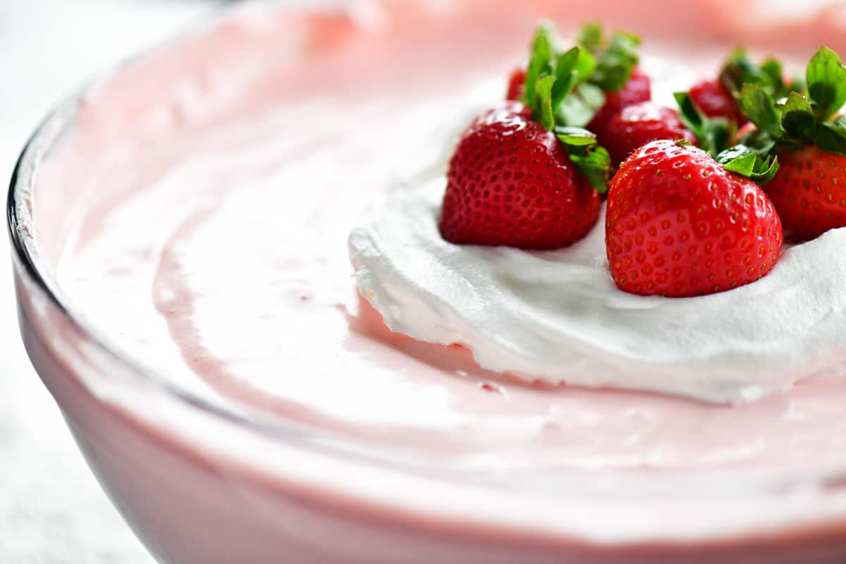 strawberry jello salad recipe