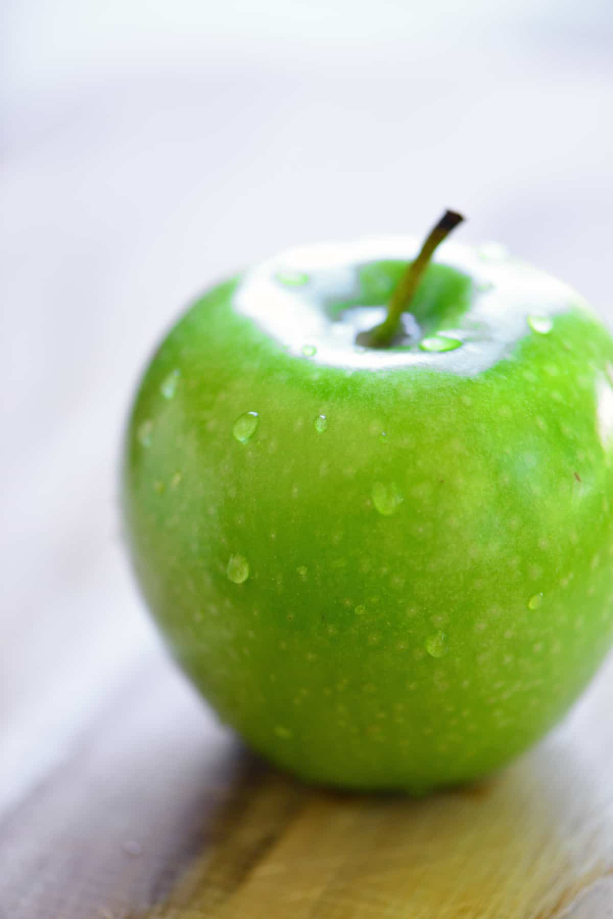 green apple for smoked gouda fondue