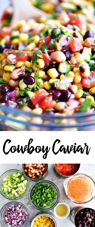 cowboy caviar collage