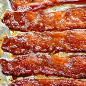bacon on a pan for how to cook bacon in the oven
