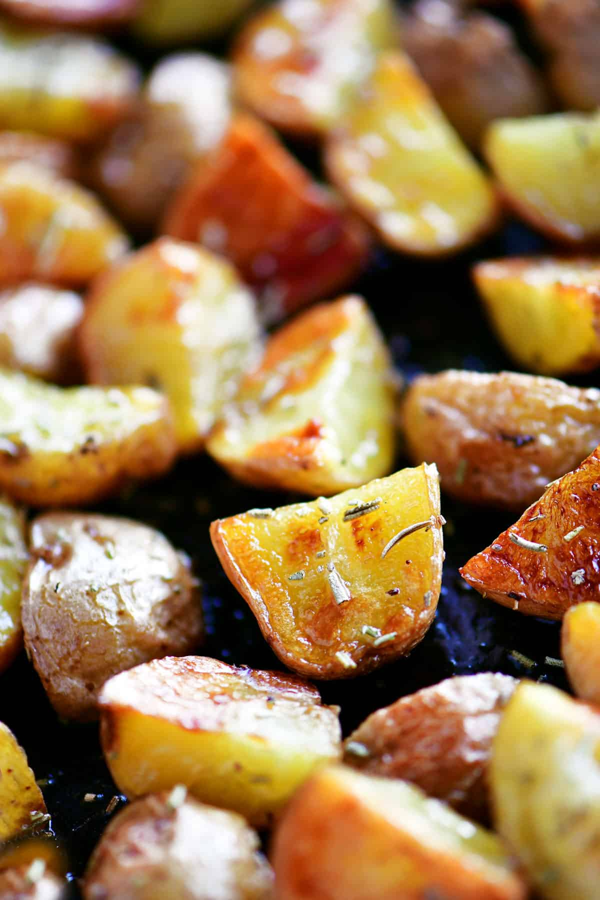 oven roasted potatoes with rosemary