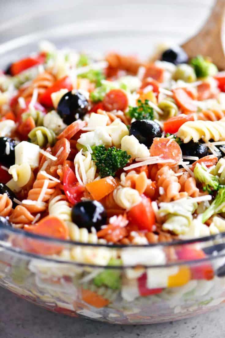 Italian Pasta Salad The Gunny Sack