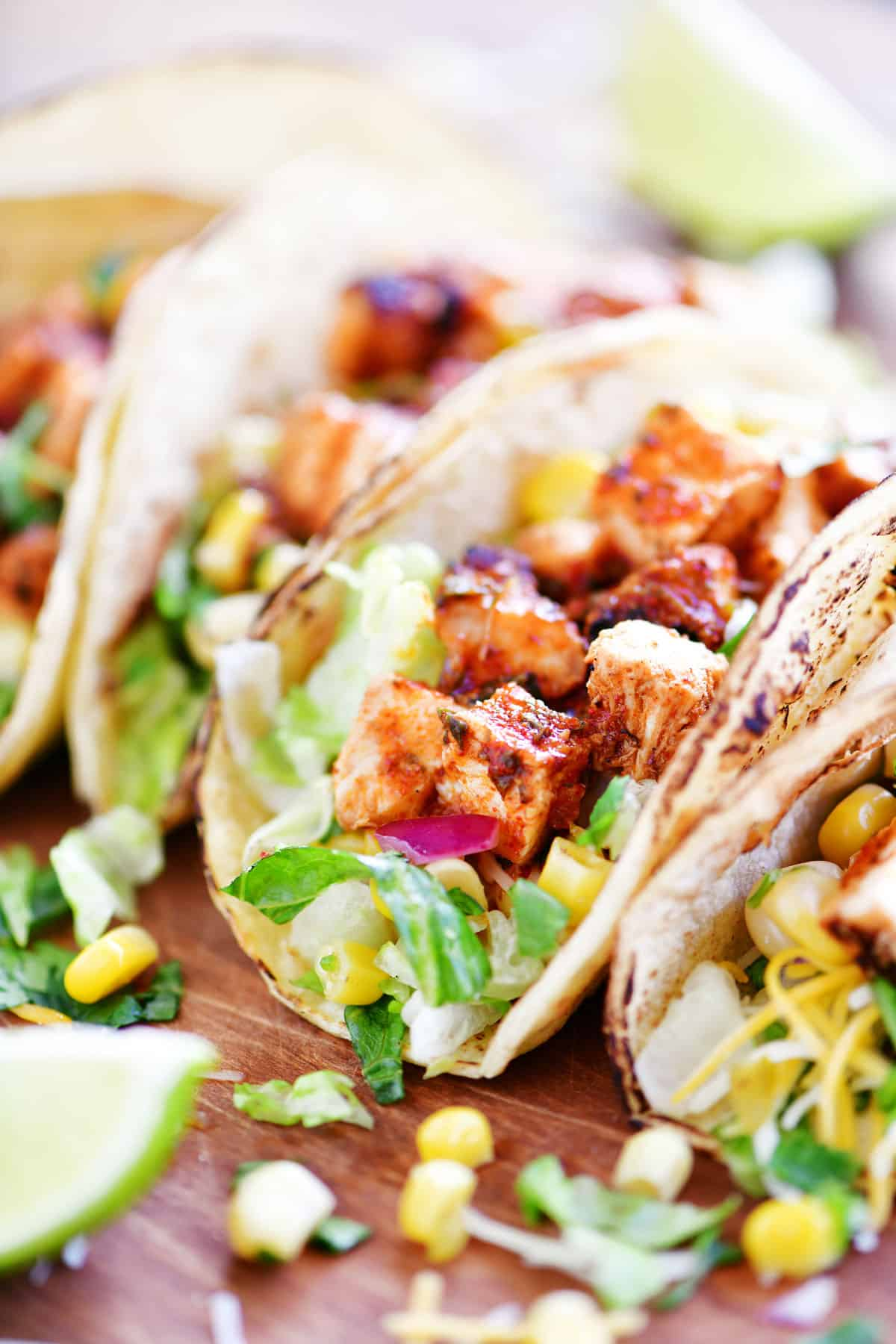 chipotle chicken taco