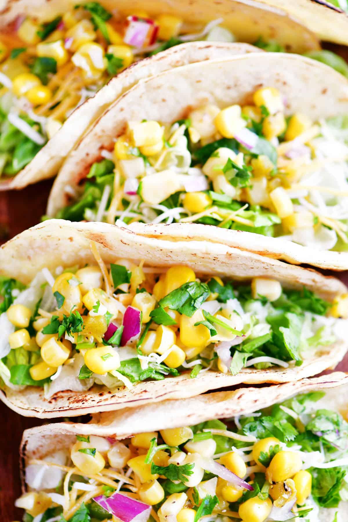 corn salsa tacos