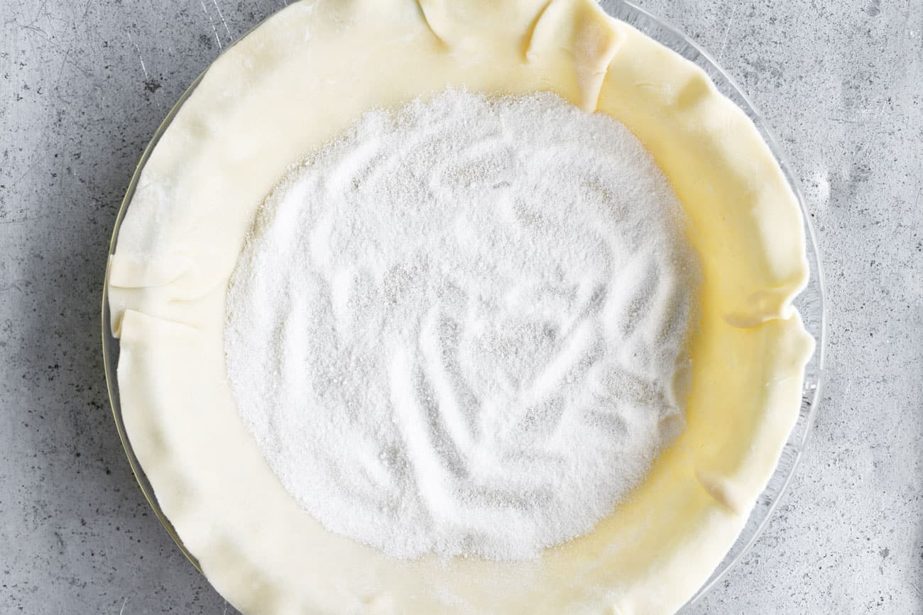 pie crust sugar