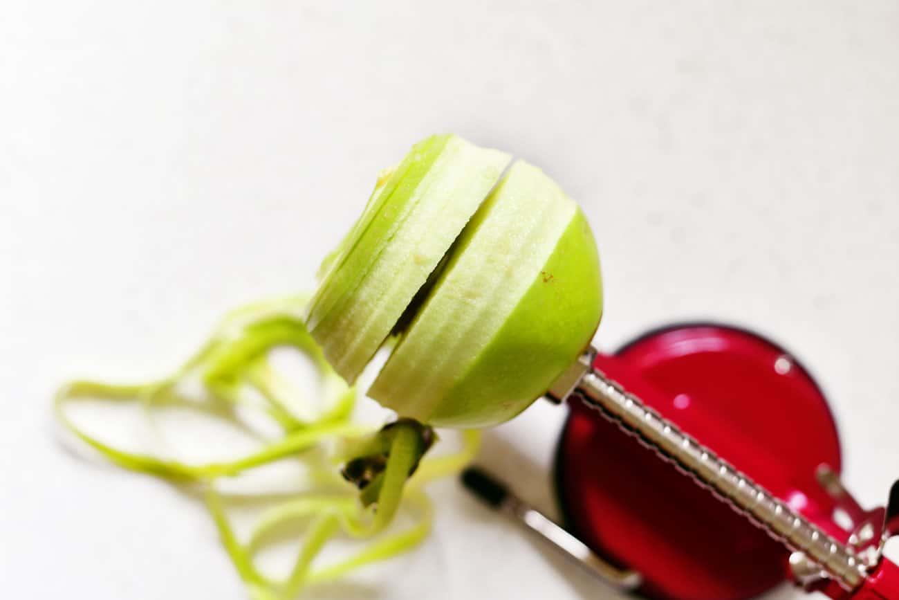 apple peeler slicer corer
