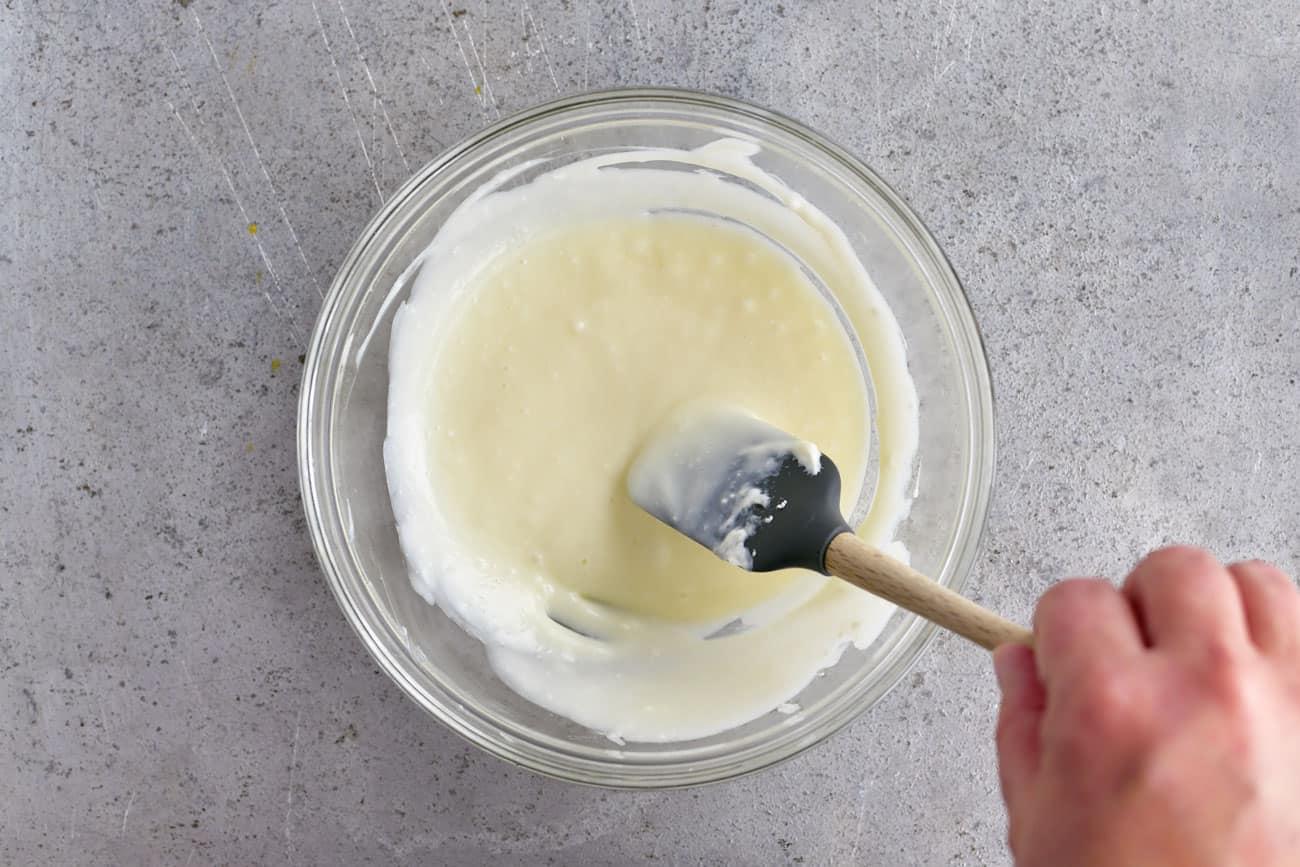 cream cheese mixture