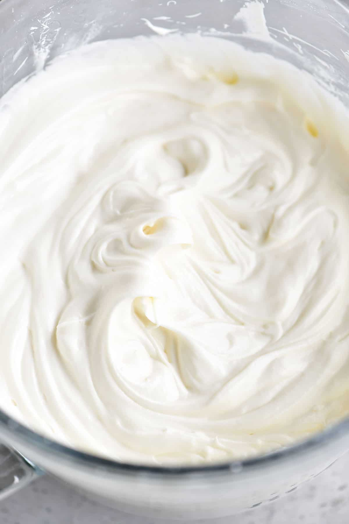 spreadable cream cheese frosting