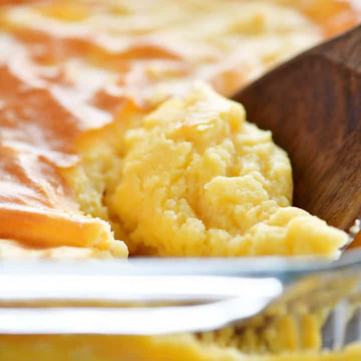 baked mashed potatoes scoop