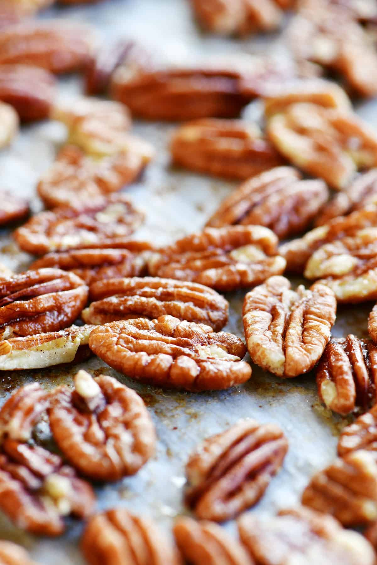 pecans toasted in the oven