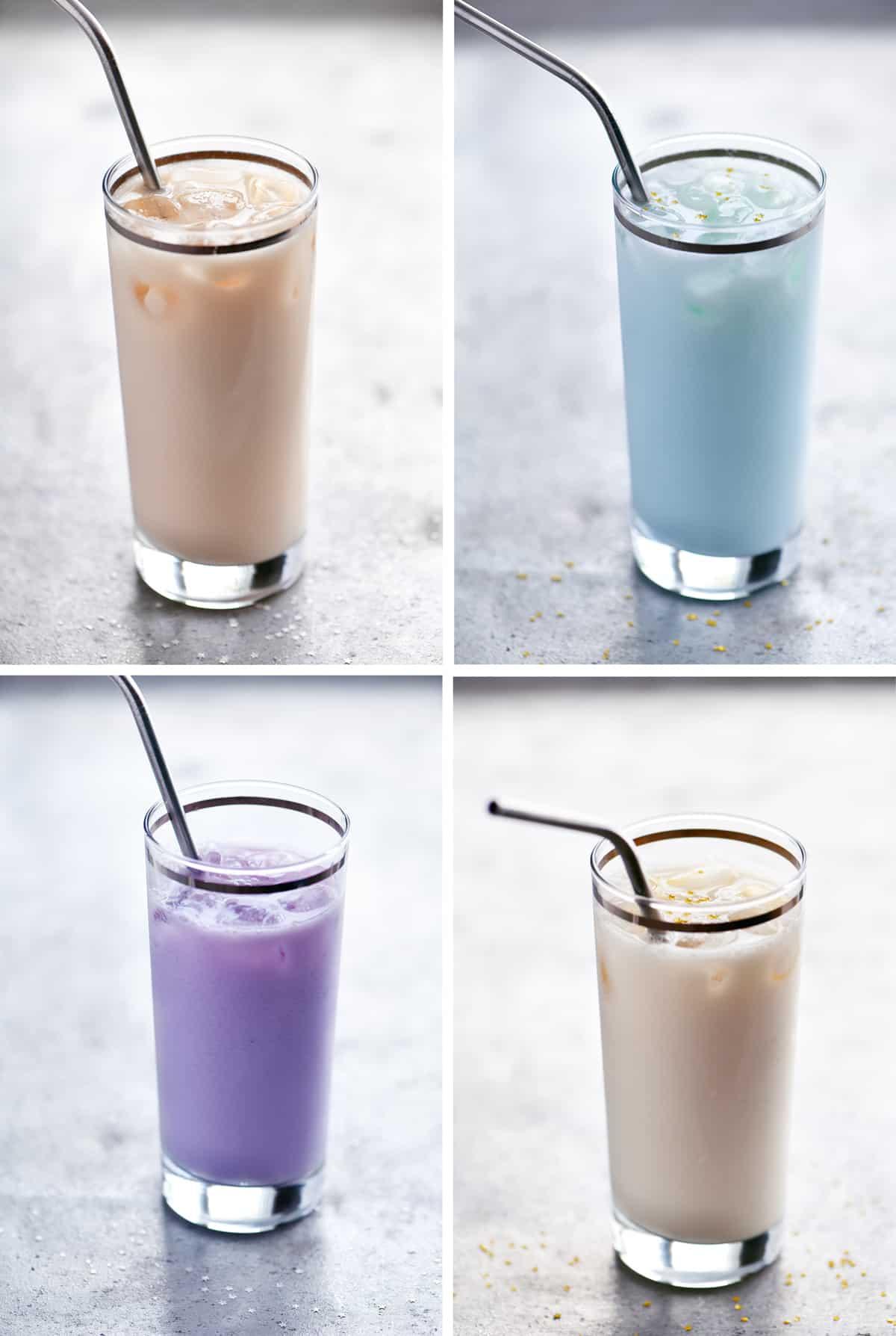 RedBull Drinks Collage