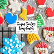 Sugar Cookies Icing Guide