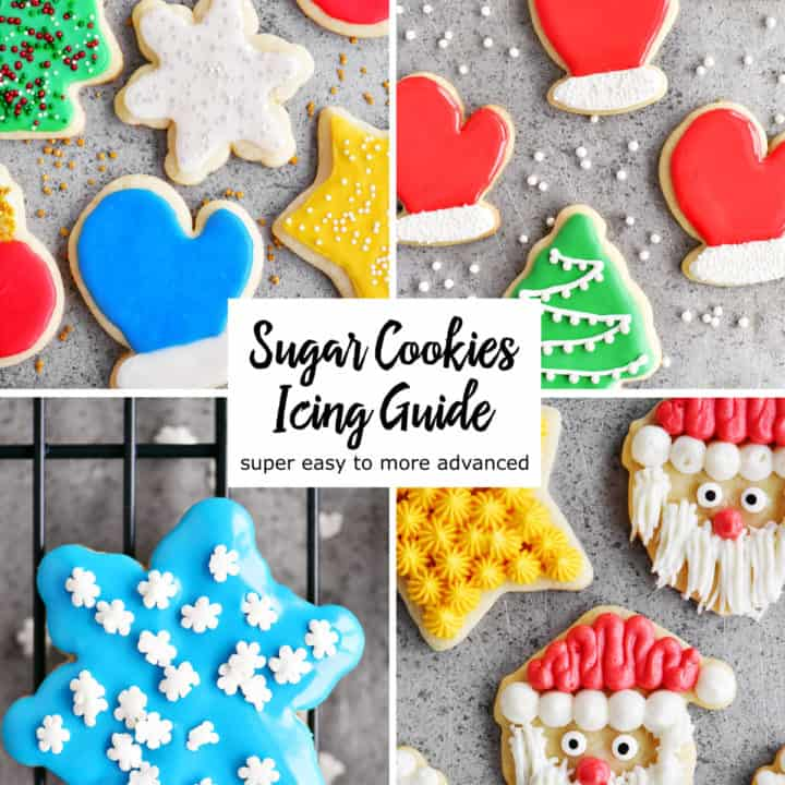 Sugar Cookies Icing Guide