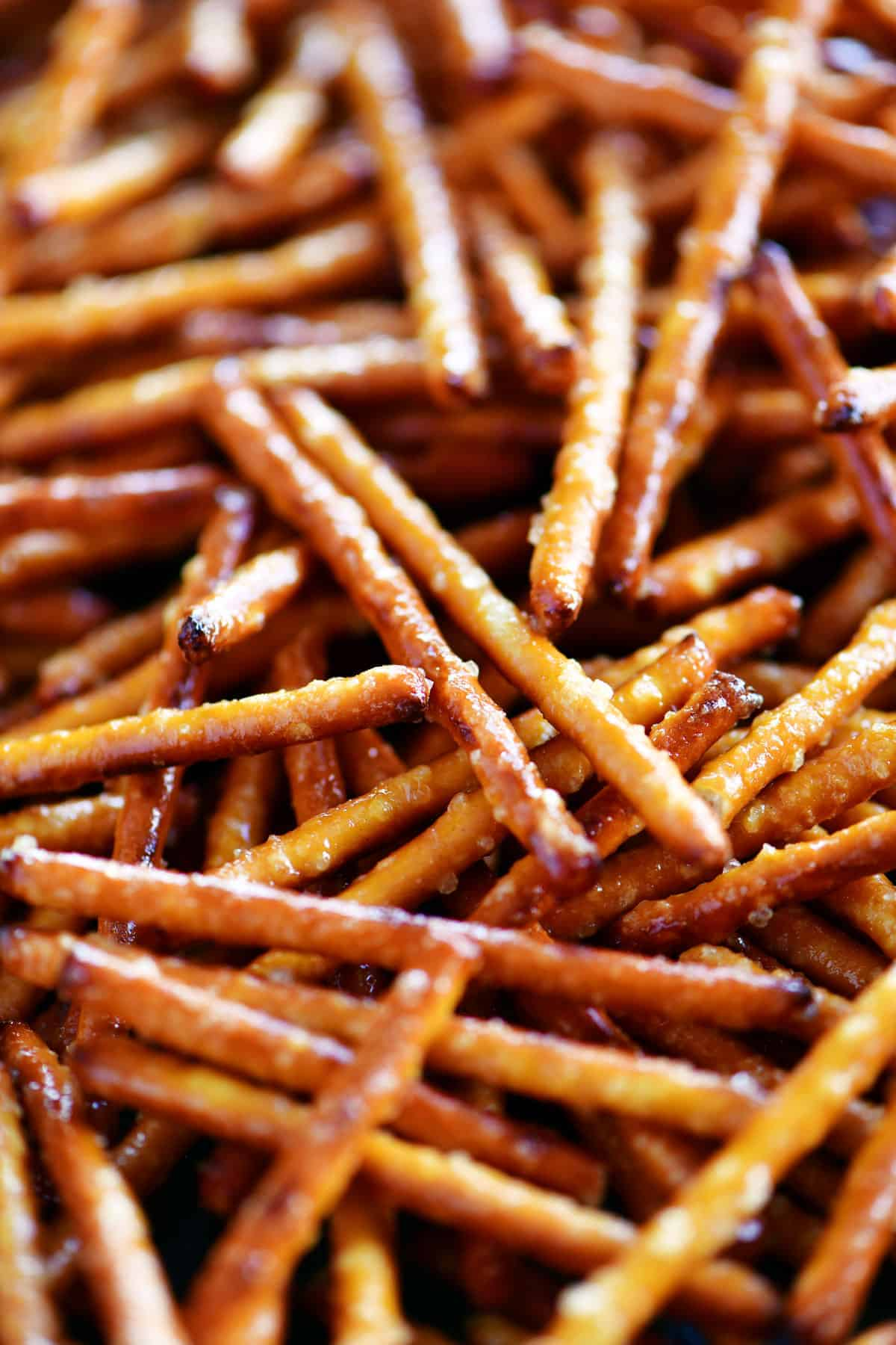 honey mustard pretzel sticks
