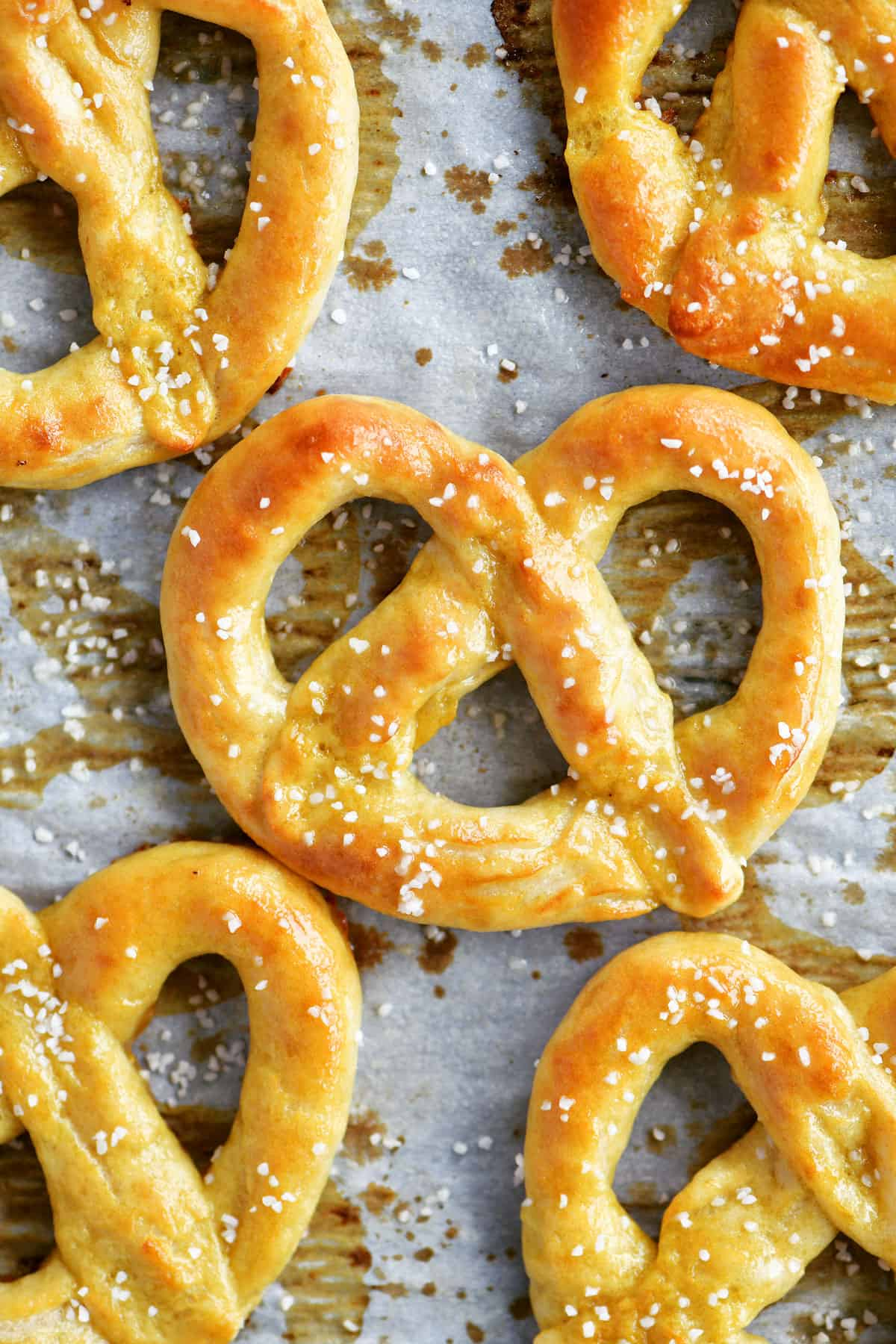 Two Ingredient Dough Soft Pretzels
