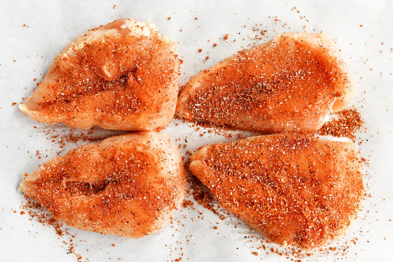 seasoning chicken breasts