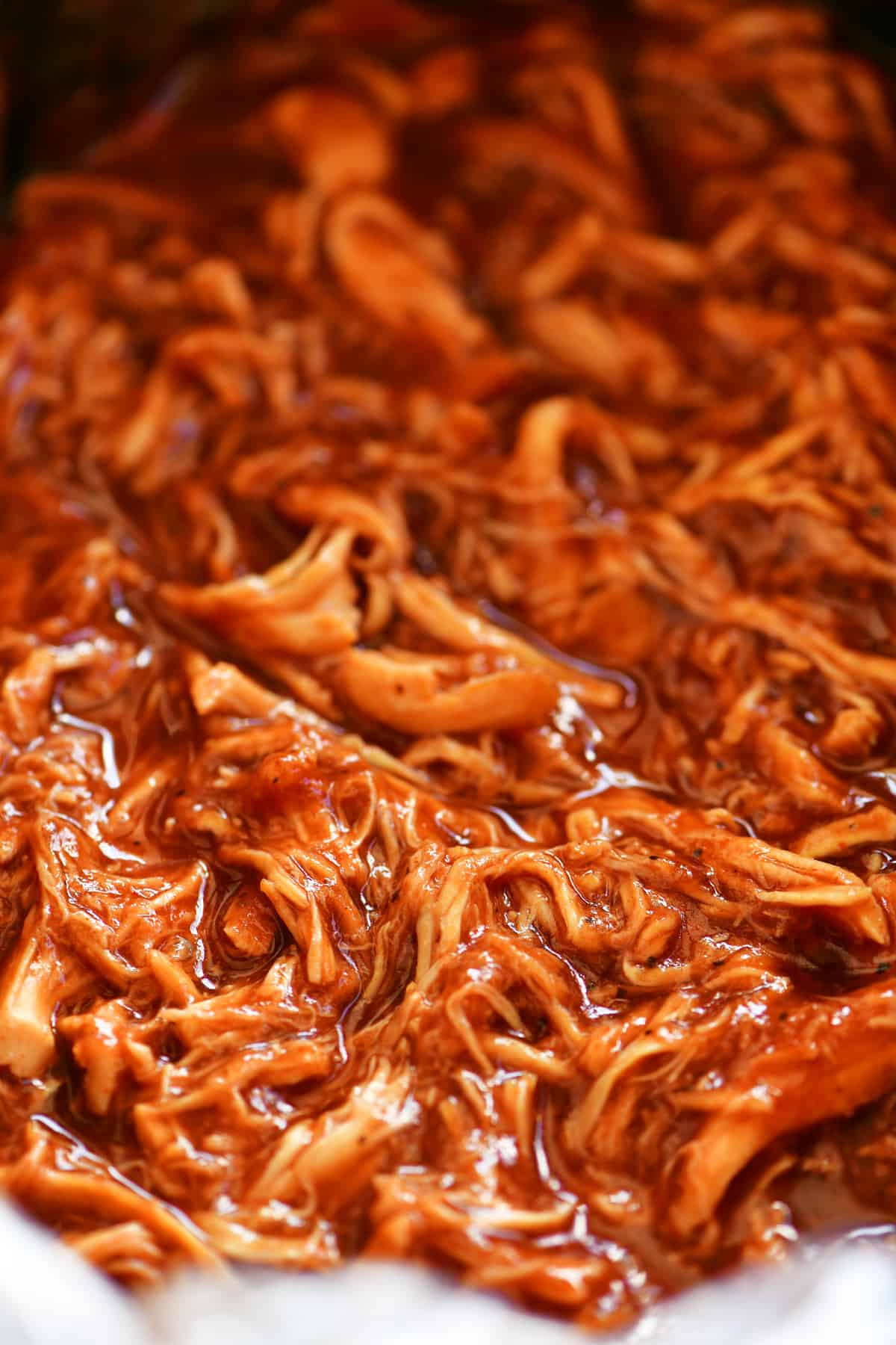 shredded barbecue chicken