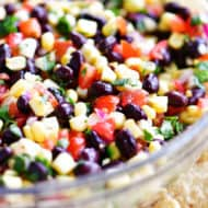 Black Beans and Corn Salsa