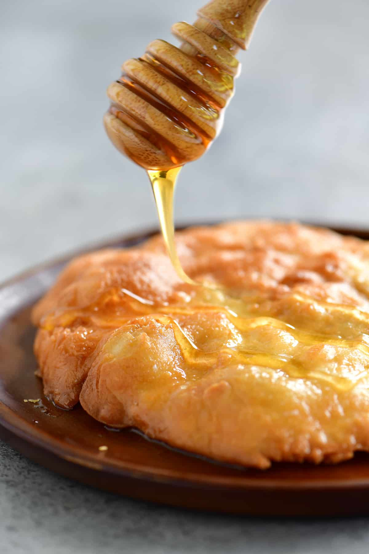 drizzle honey on fry bread