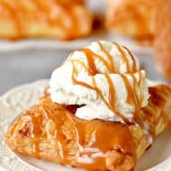 Caramel Apple Puffs