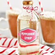 Peppermint Syrup