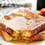 french toast with a bite out of it