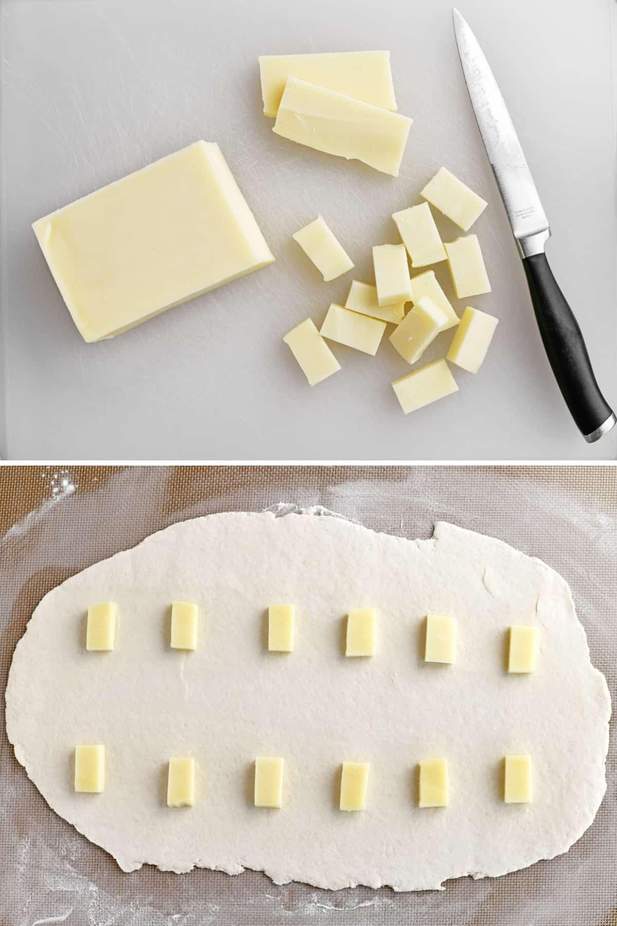 mozzarella cheese cubes