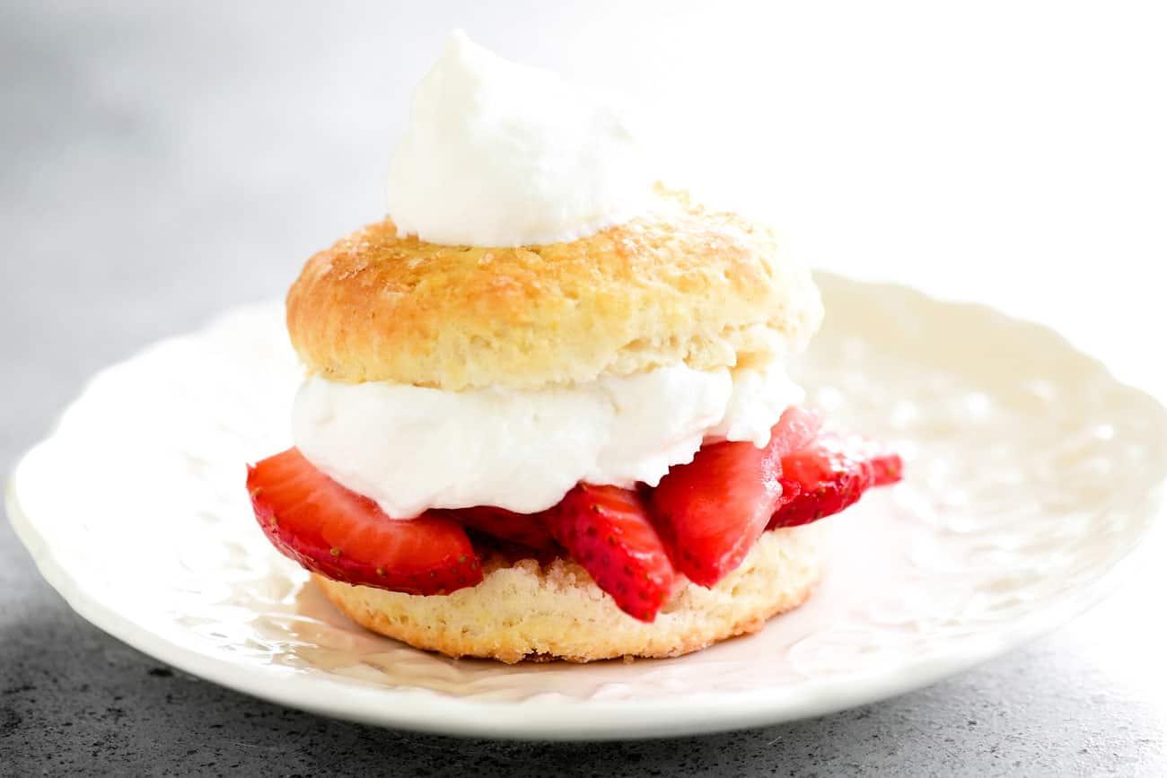 strawberry shortcake layers