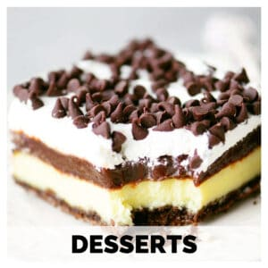 button for the desserts category