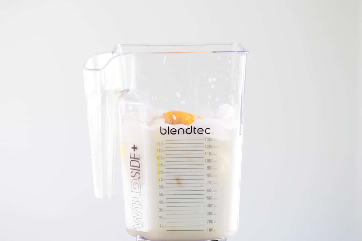 orange julius ingredients in blender