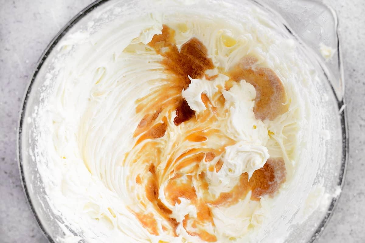 add half-n-half and vanilla