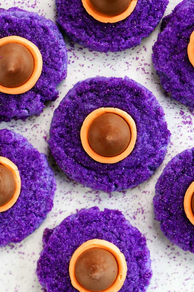 witches hats cookies